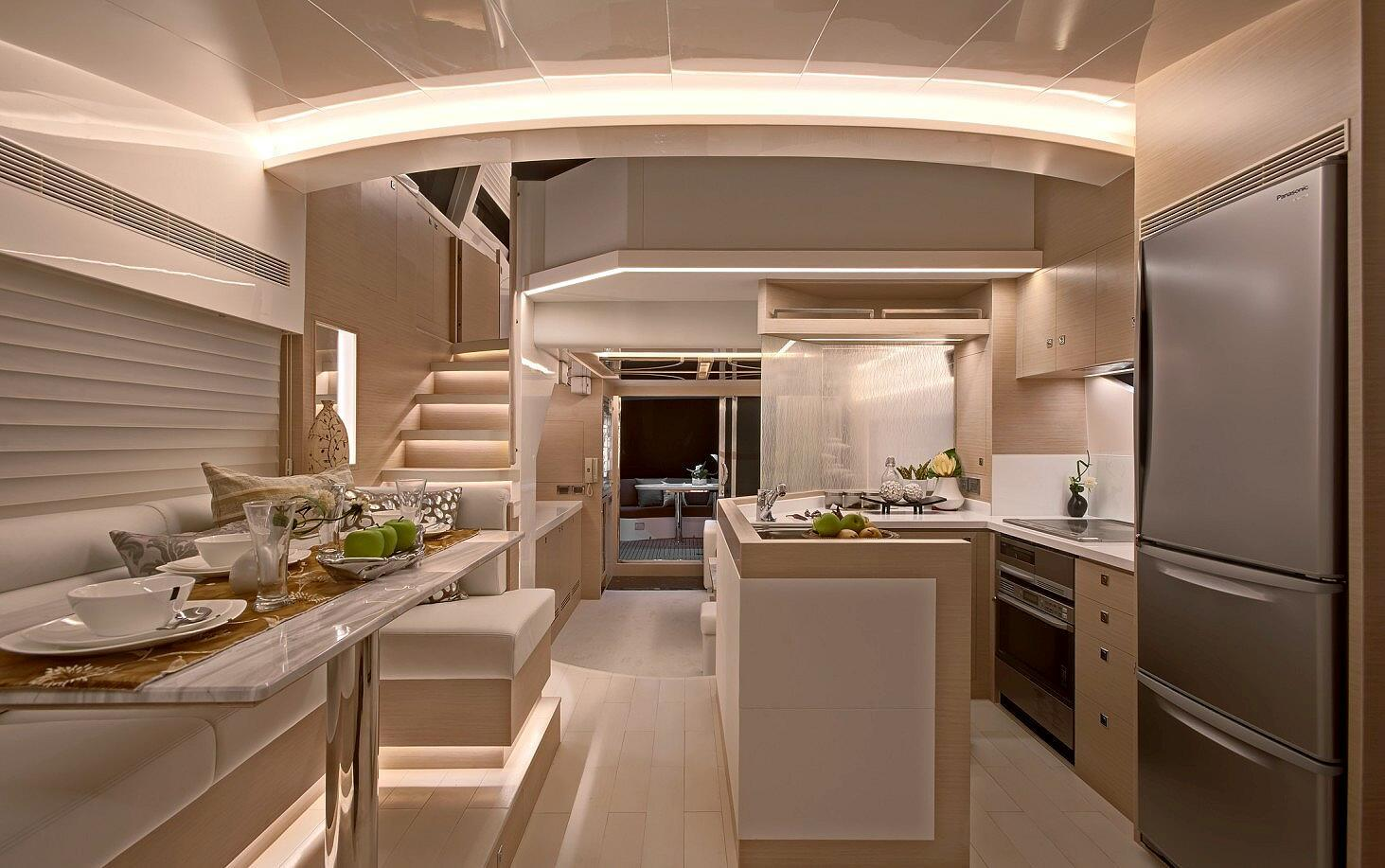 Manufacturer Provided Image: Galley A