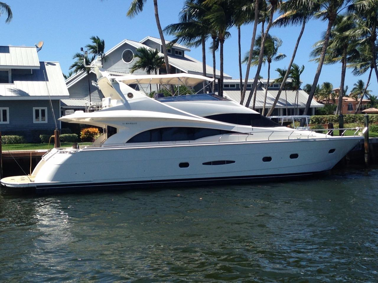 65 ft Marquis flybridge