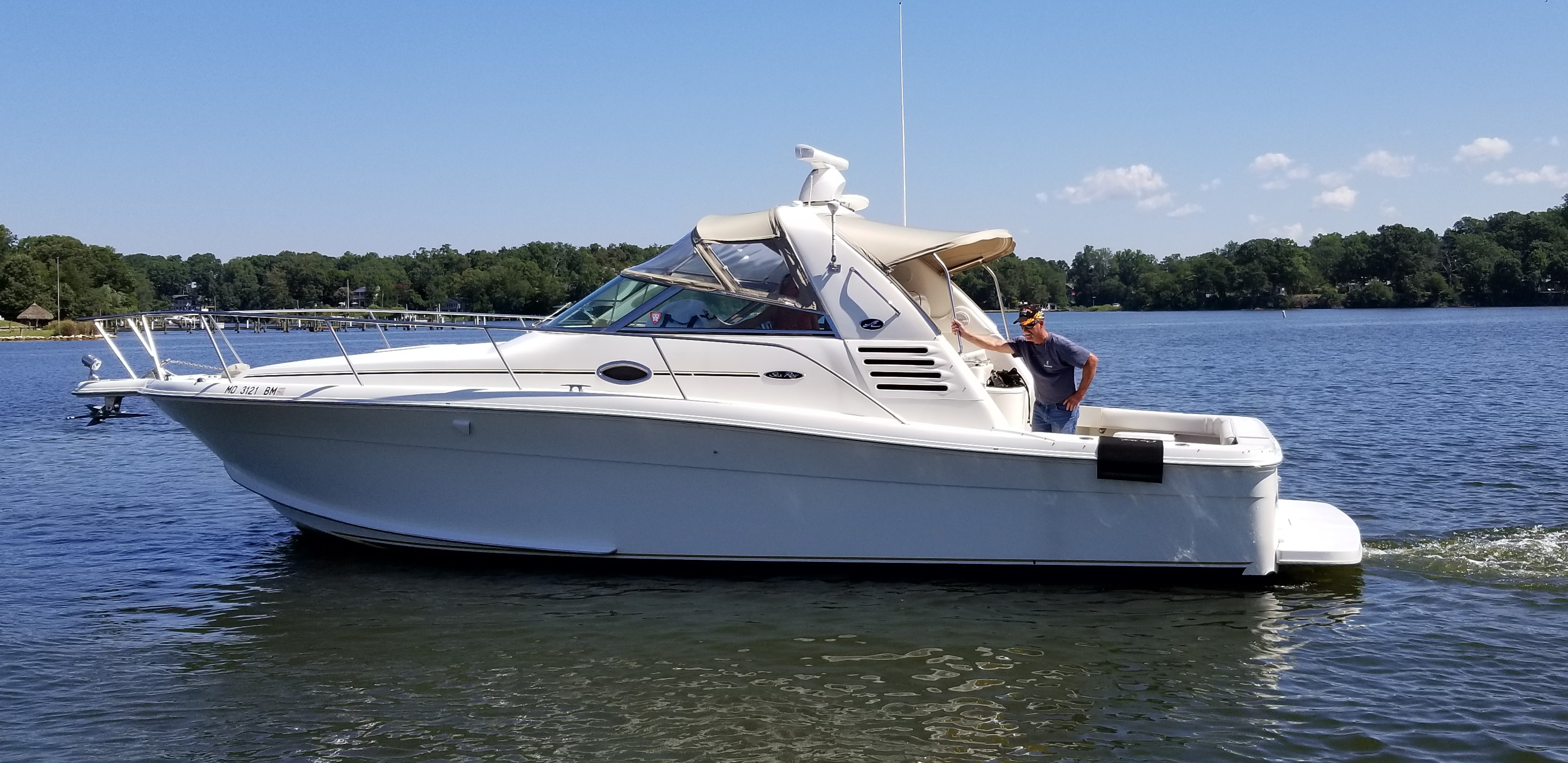 34 Sea Ray One More 2001 Hollywood Denison Yacht Sales
