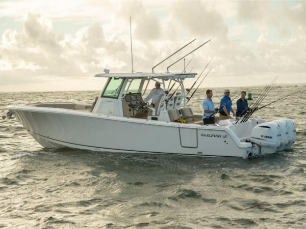 2020 Sailfish boat for sale, model of the boat is 360 CC & Image # 4 of 36