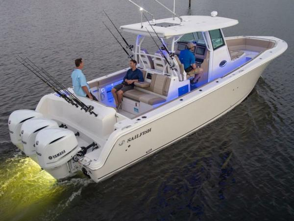 2020 Sailfish boat for sale, model of the boat is 360 CC & Image # 28 of 36