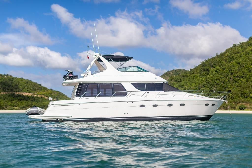 56.75 ft Carver 530 Voyager Pilothouse