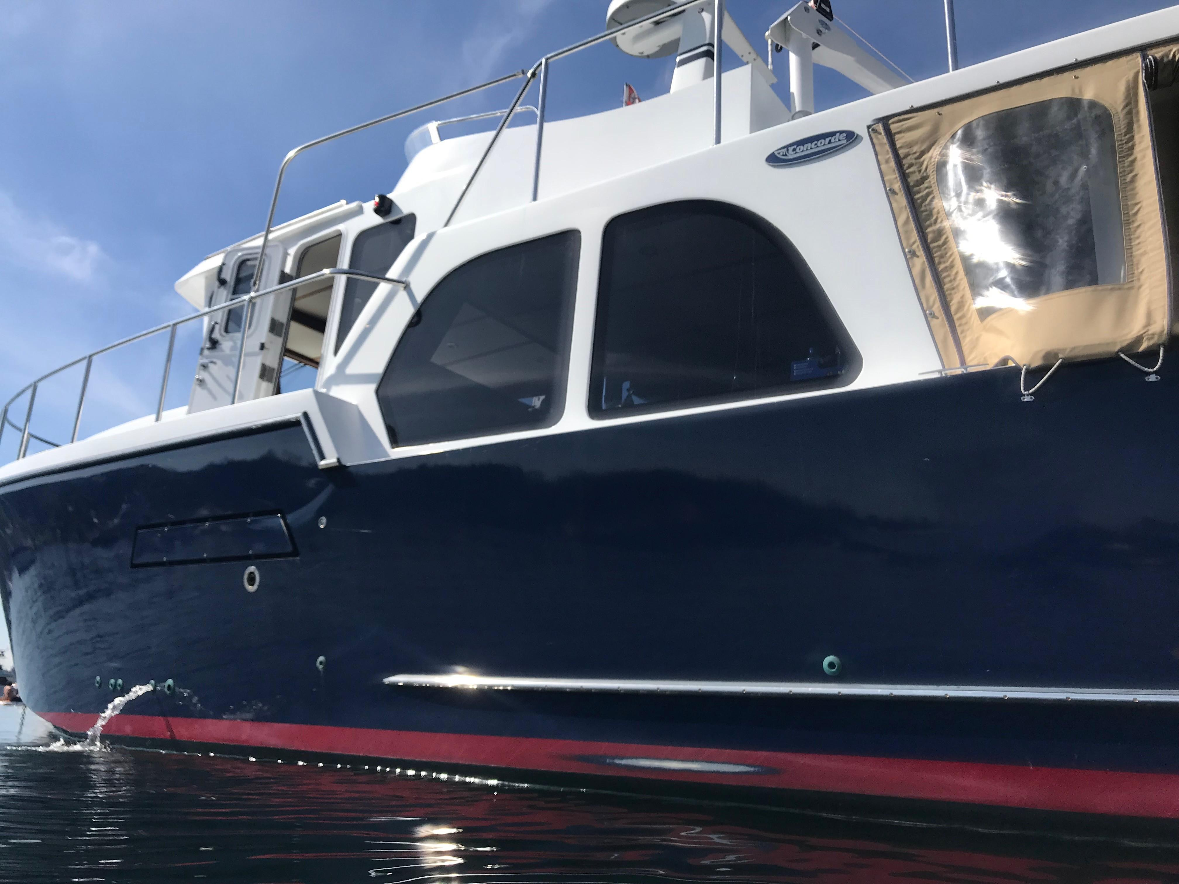 Picture Of:  41' Concorde pilothouse 2010Yacht For Sale   23