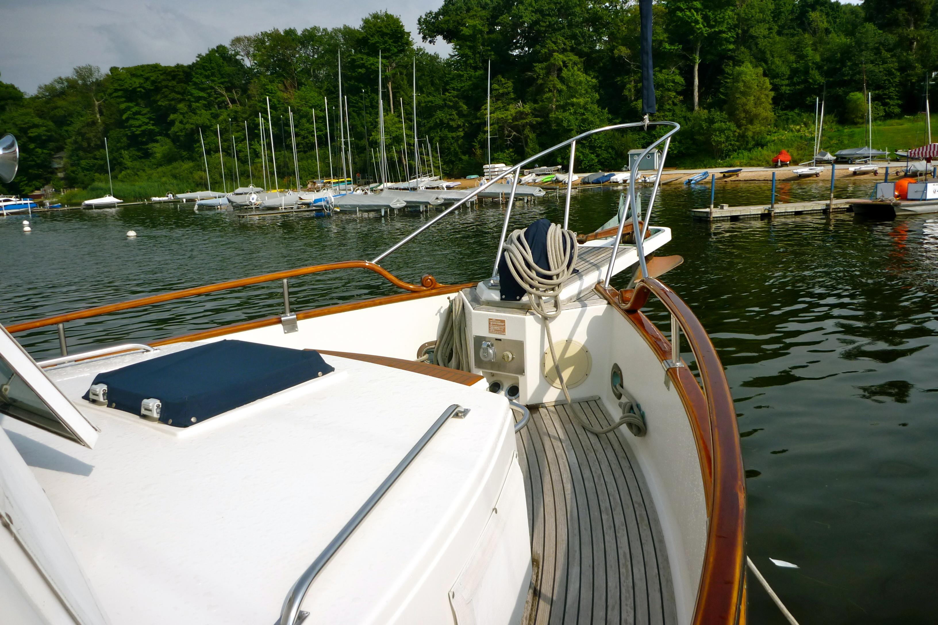 Starboard side bow