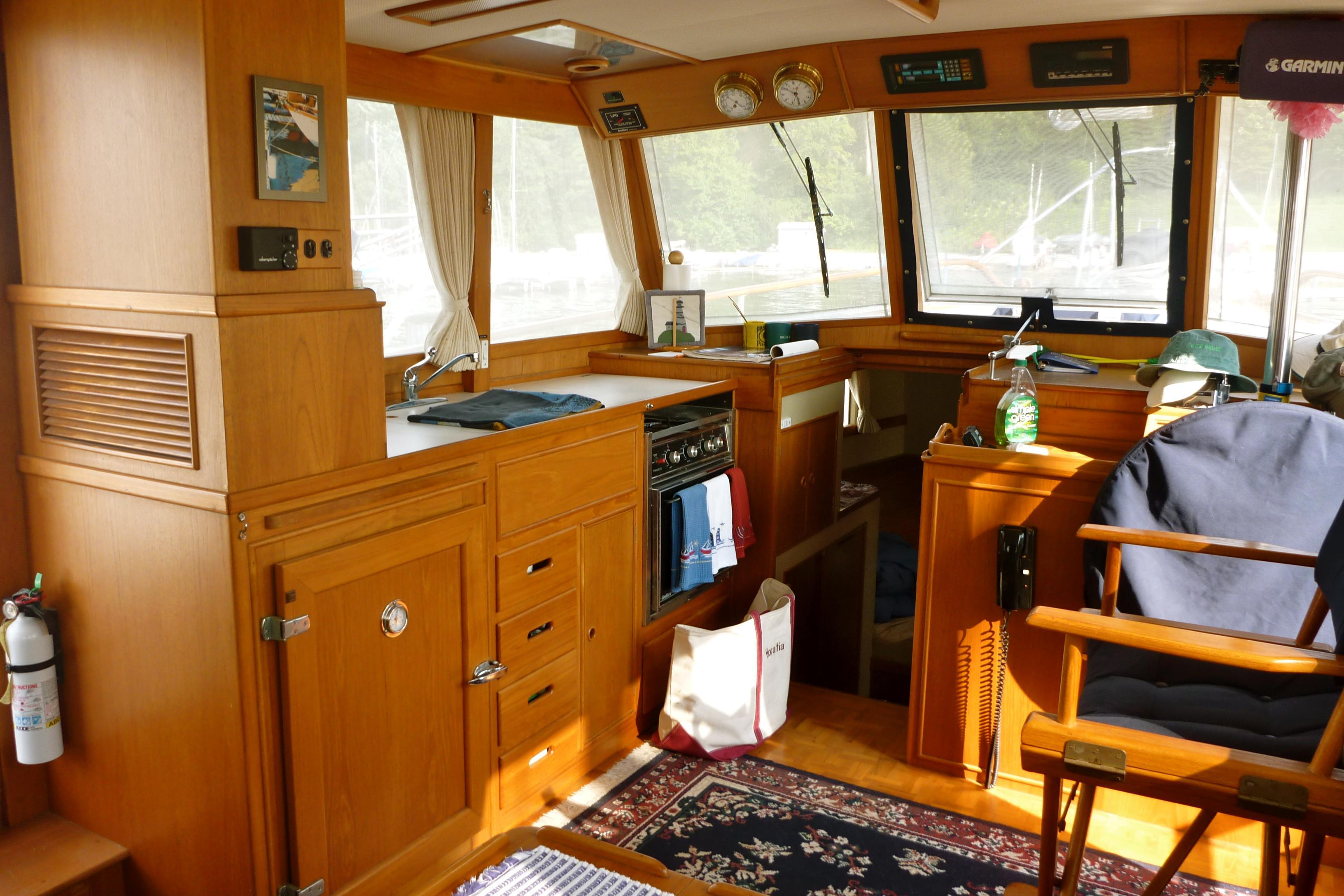Cabin looking forward