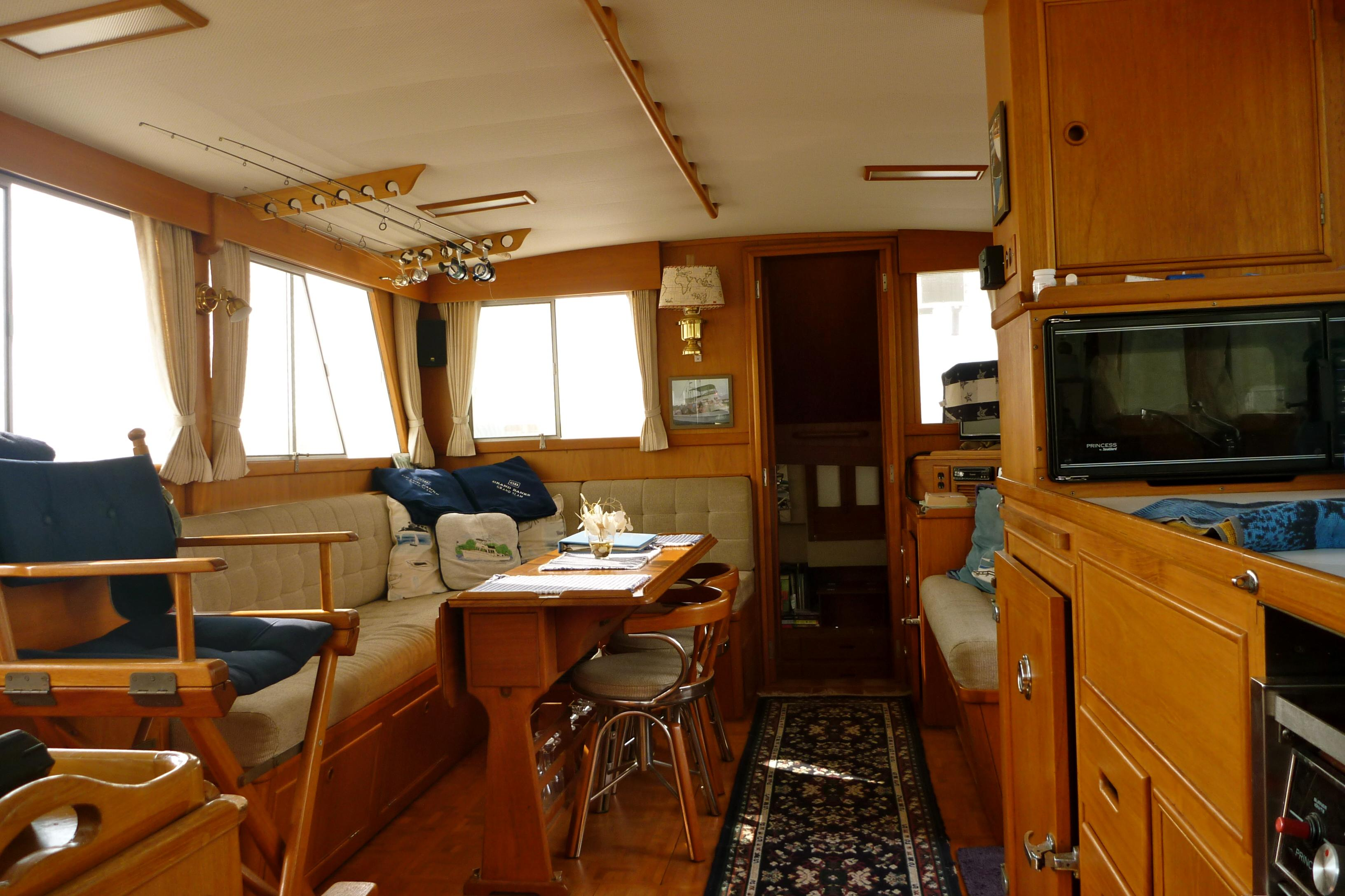 Cabin looking aft