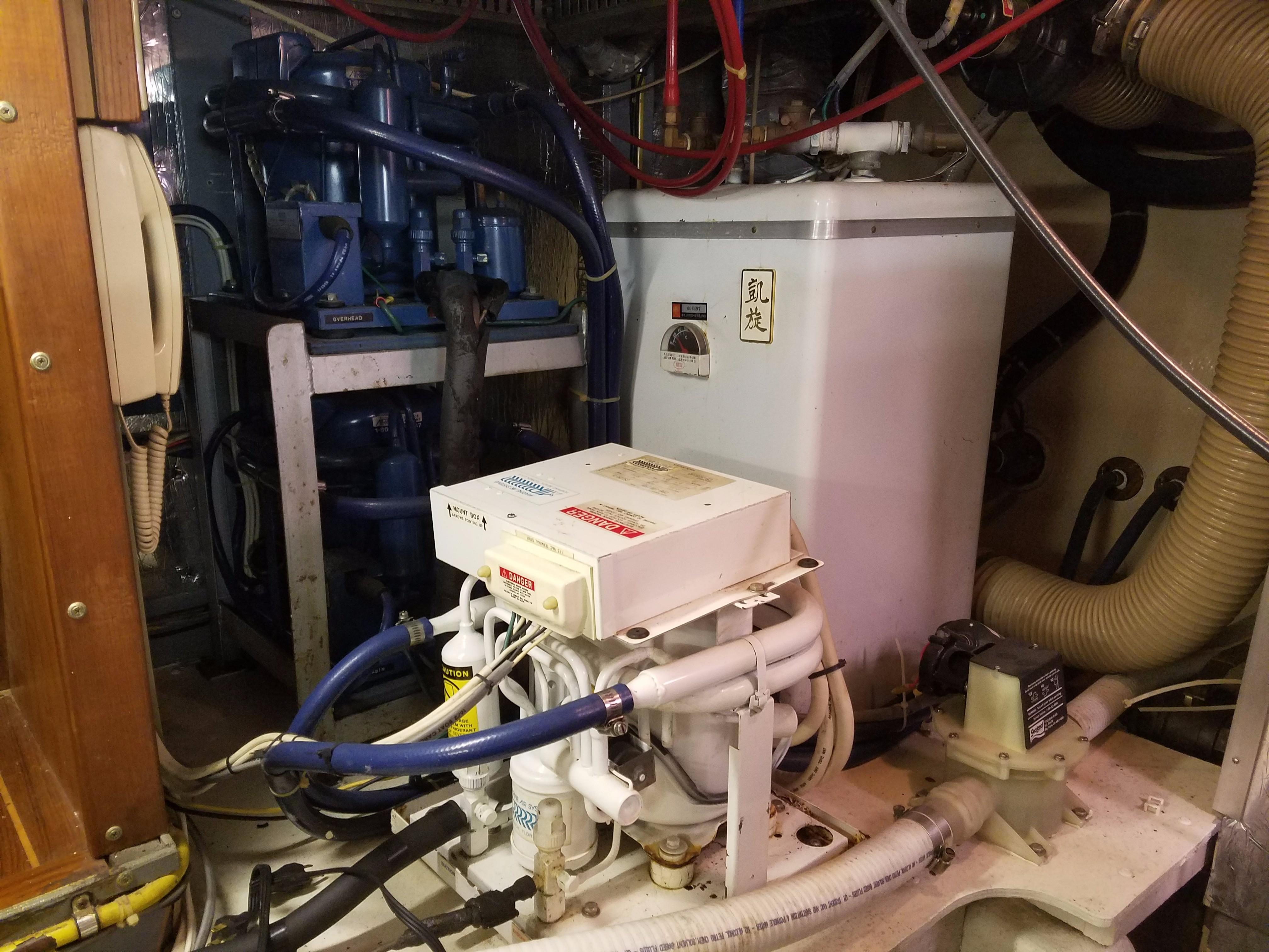 Hi-Star 48 A/C units and hot water heater
