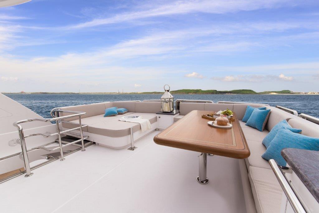 Manufacturer Provided Image: Boat Deck