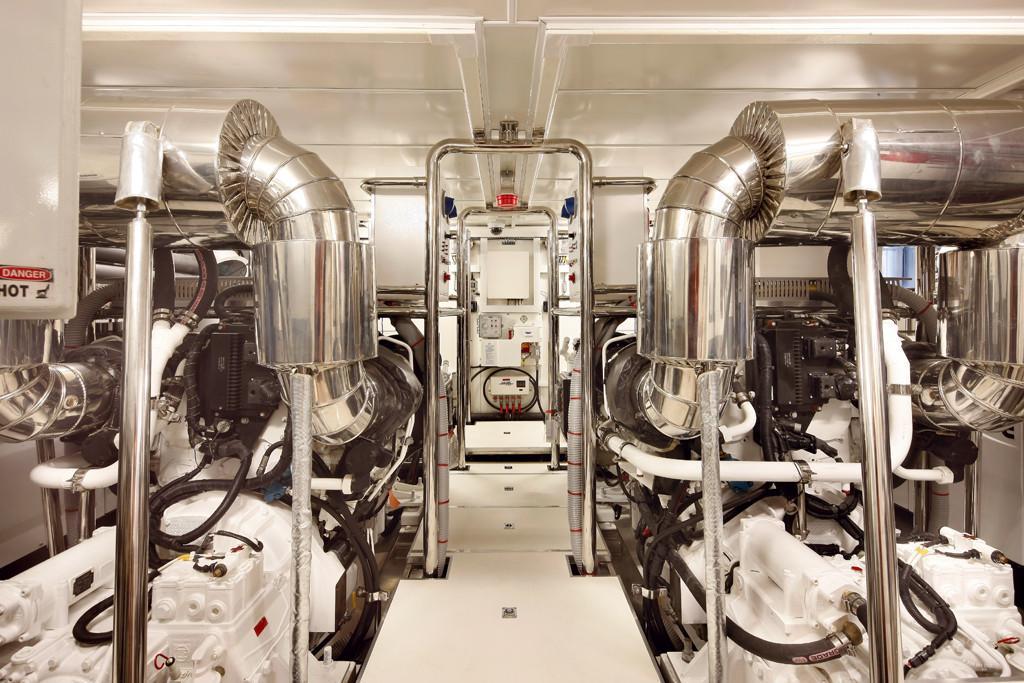 Manufacturer Provided Image: Engine Room
