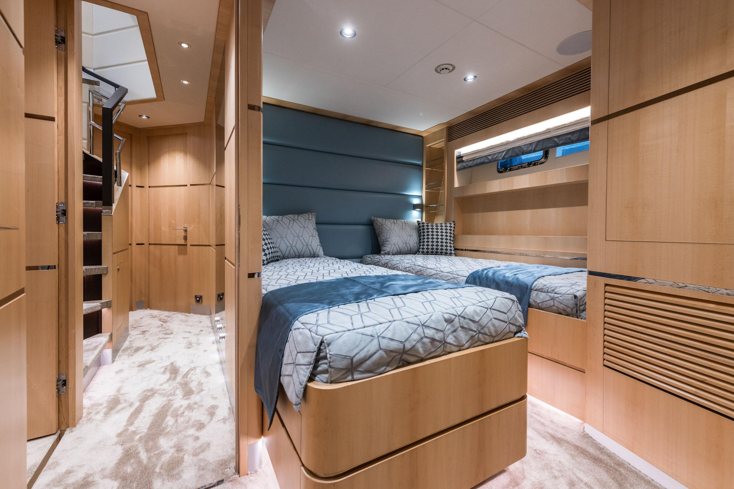 Manufacturer Provided Image: Port Twin Stateroom A
