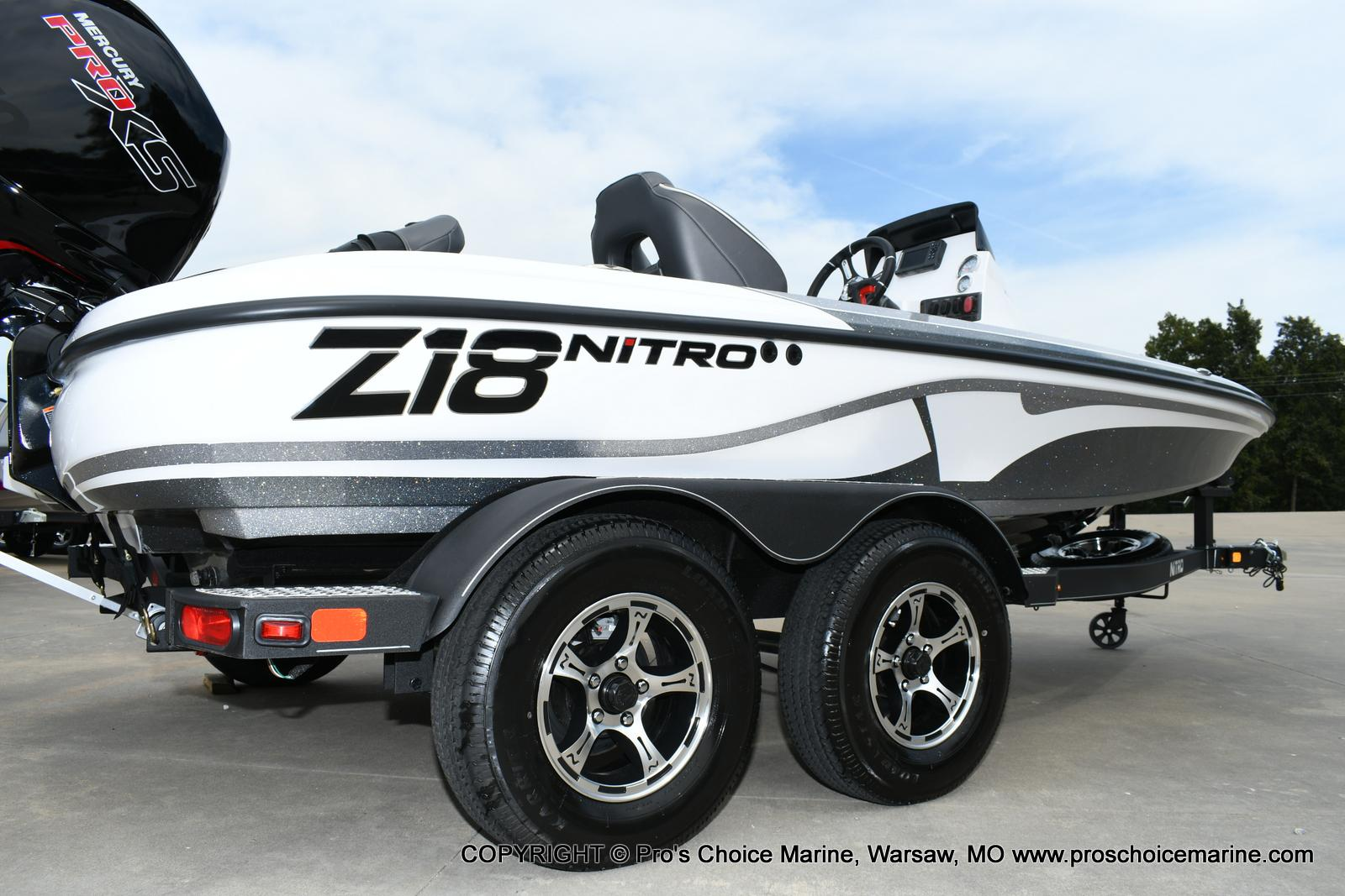 2020 Nitro boat for sale, model of the boat is Z18 & Image # 3 of 50