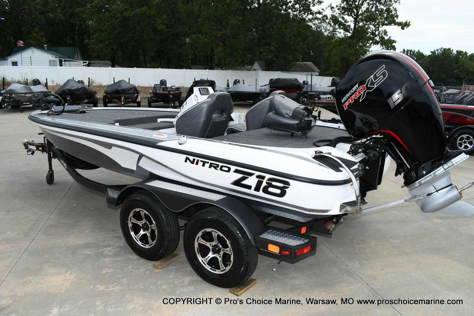 2020 Nitro boat for sale, model of the boat is Z18 & Image # 4 of 50