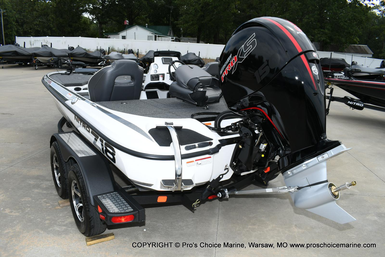 2020 Nitro boat for sale, model of the boat is Z18 & Image # 47 of 50
