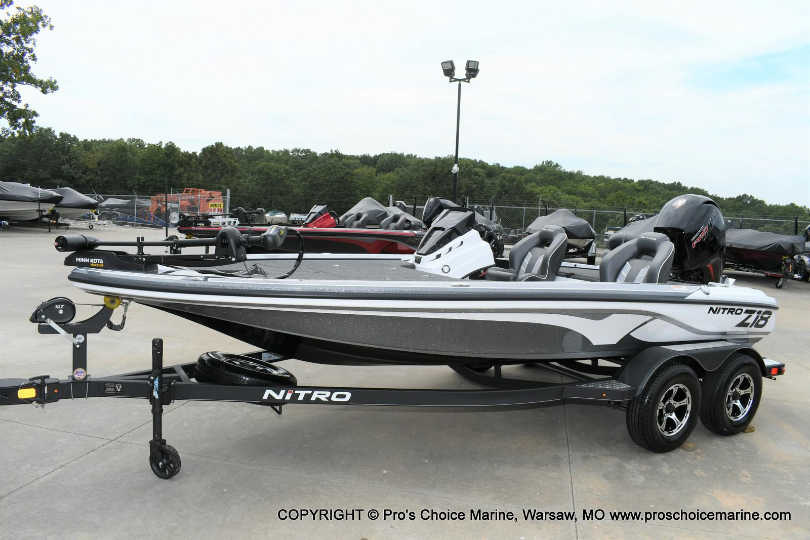 2020 Nitro boat for sale, model of the boat is Z18 & Image # 48 of 50