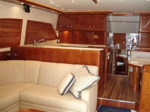 2007 57' Bertram Salon Looking Forward