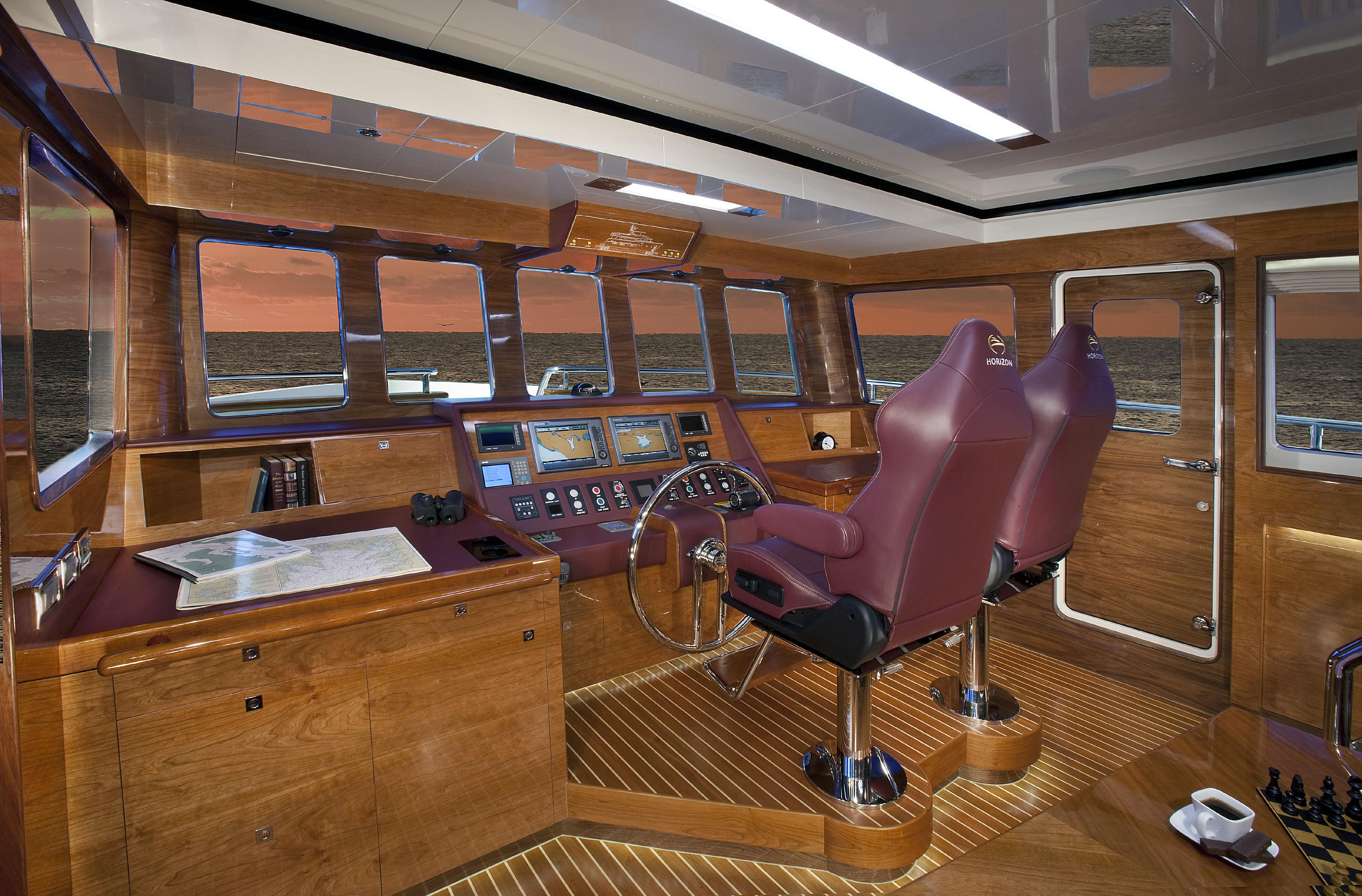 Manufacturer Provided Image: Lower Pilothouse