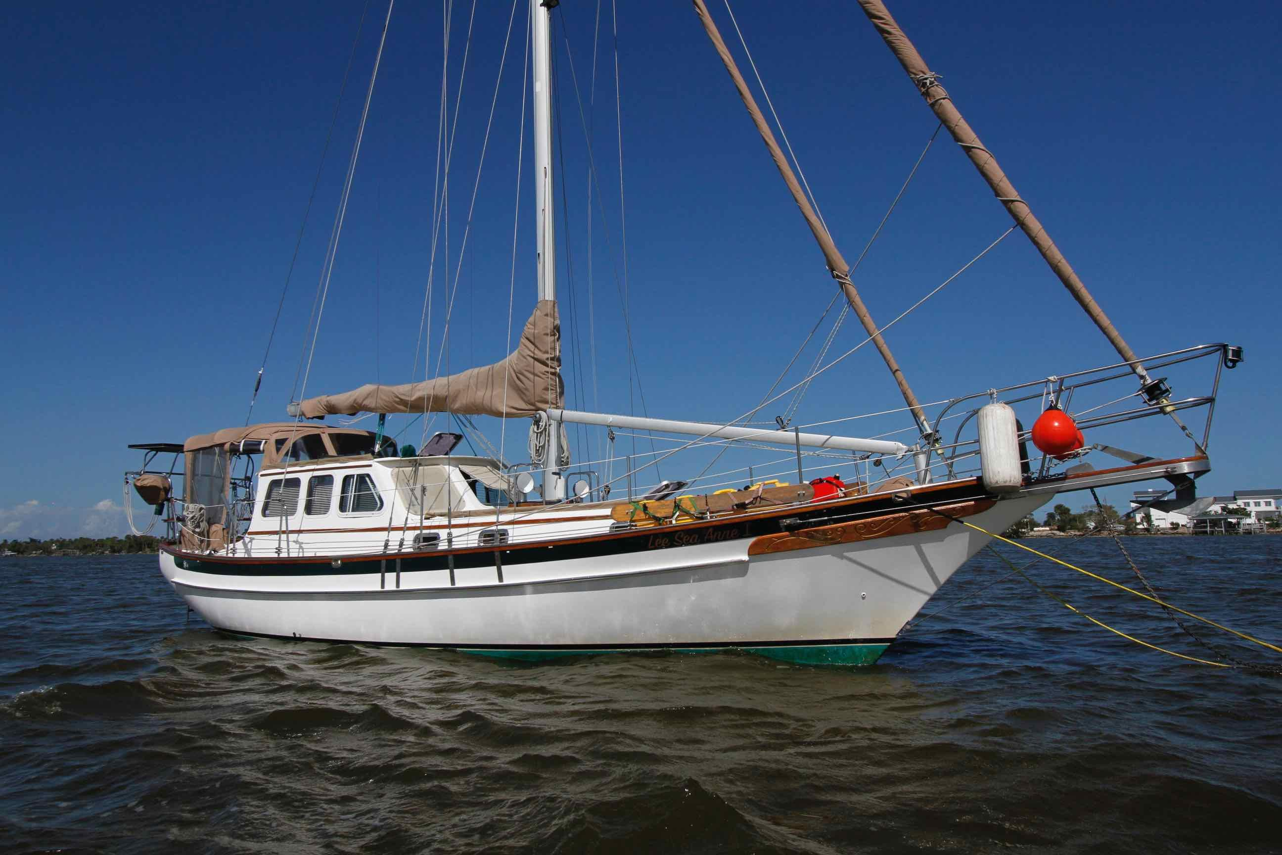 1999 38 Pilothouse Cutter Lee Sea Anne 1   David Walters Yachts