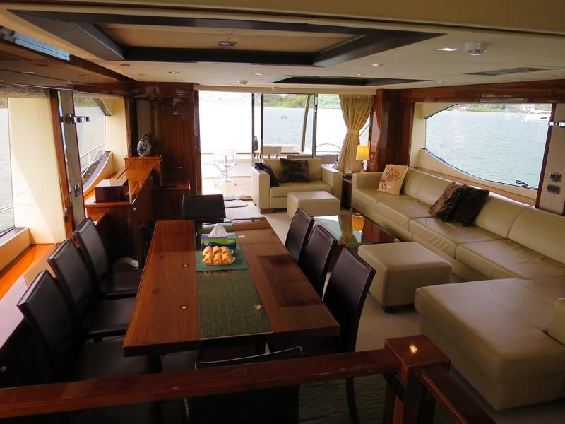 Salon Looking Aft
