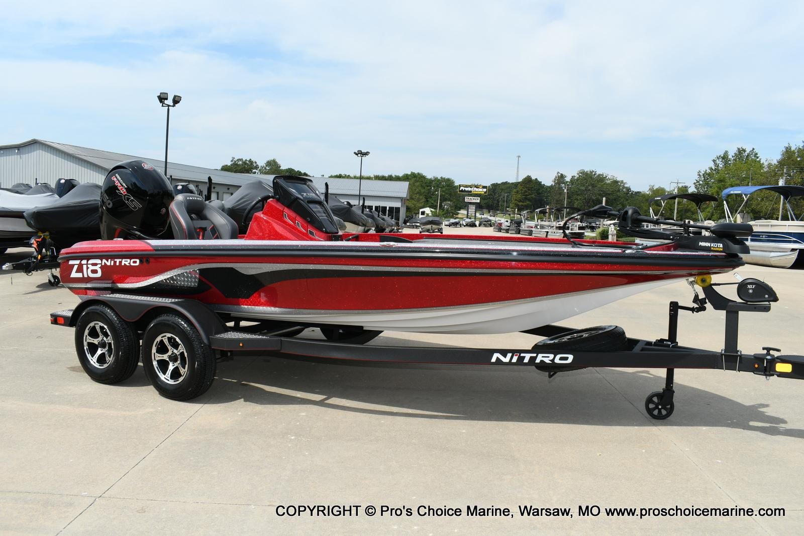 2020 Nitro boat for sale, model of the boat is Z18 & Image # 1 of 50
