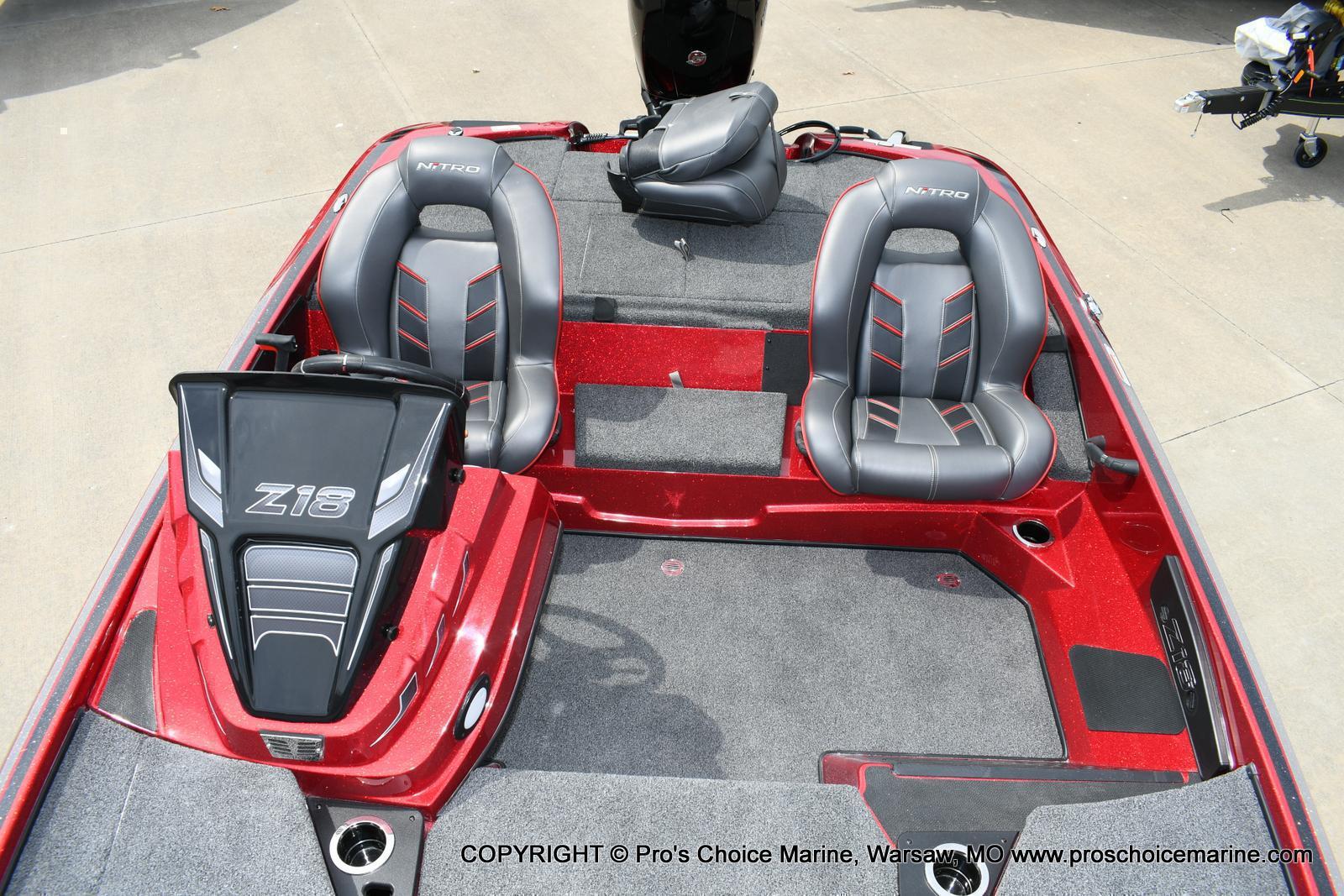 2020 Nitro boat for sale, model of the boat is Z18 & Image # 10 of 50