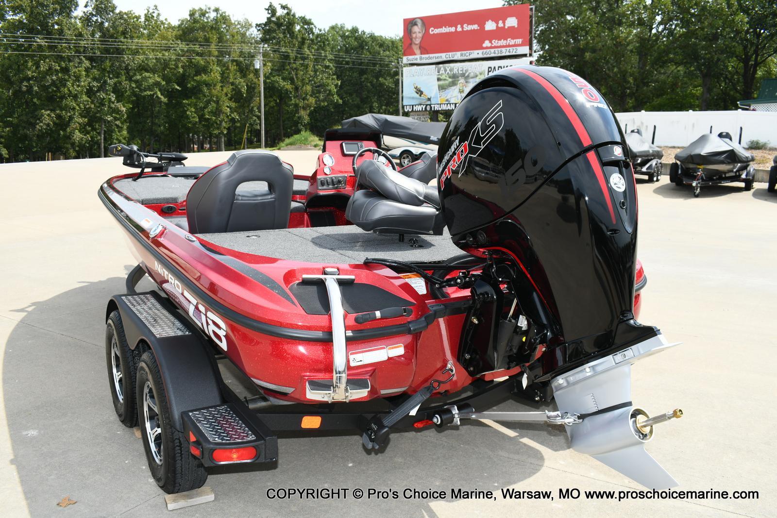 2020 Nitro boat for sale, model of the boat is Z18 & Image # 16 of 50