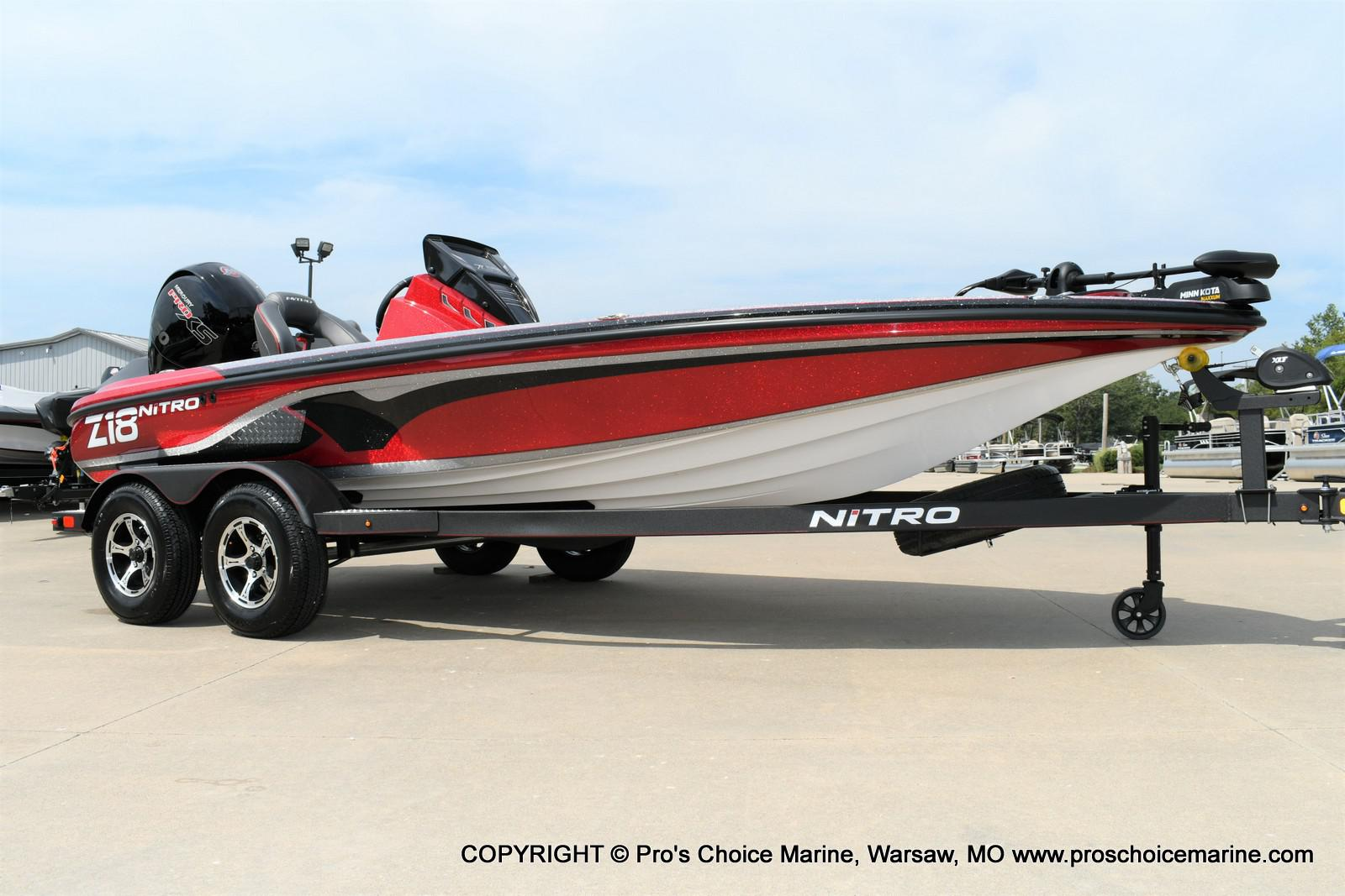 2020 Nitro boat for sale, model of the boat is Z18 & Image # 2 of 50