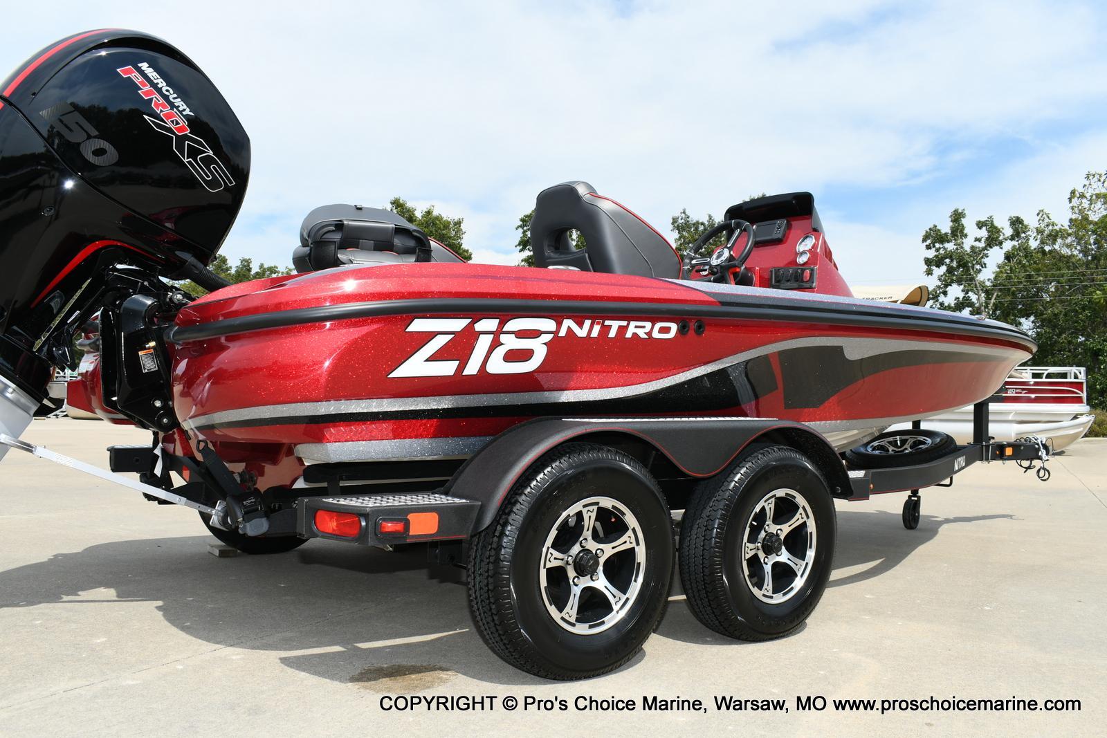 2020 Nitro boat for sale, model of the boat is Z18 & Image # 35 of 50