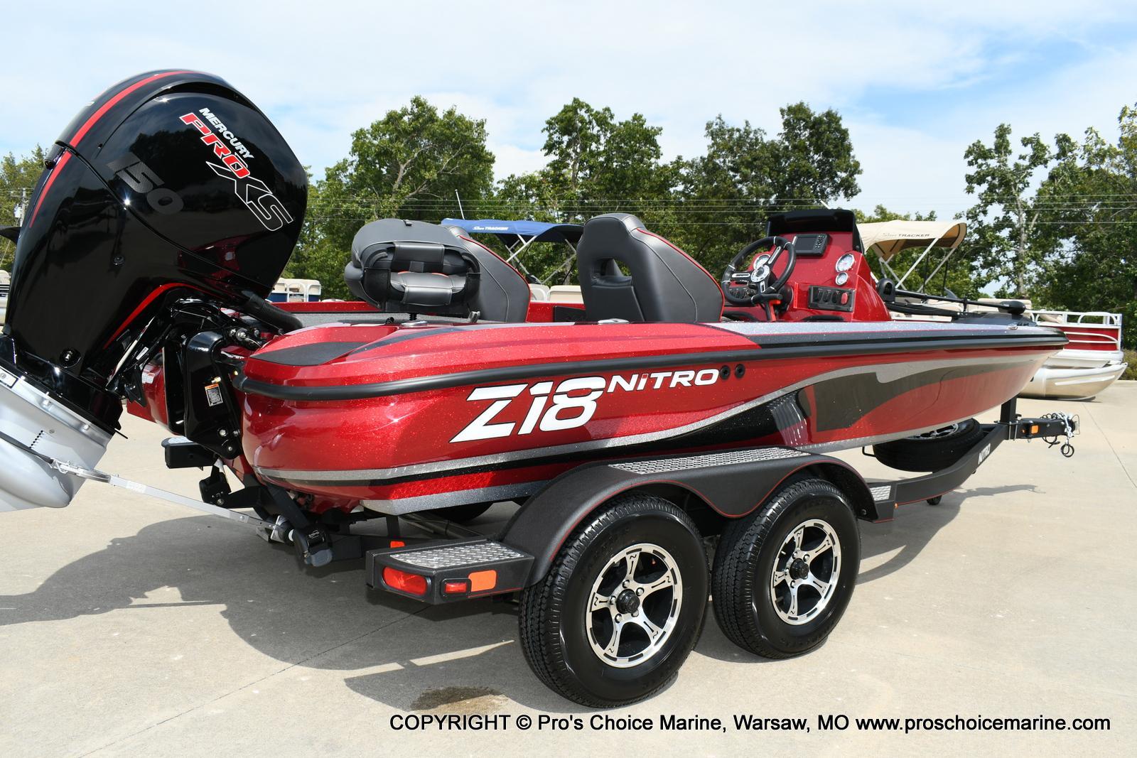 2020 Nitro boat for sale, model of the boat is Z18 & Image # 36 of 50