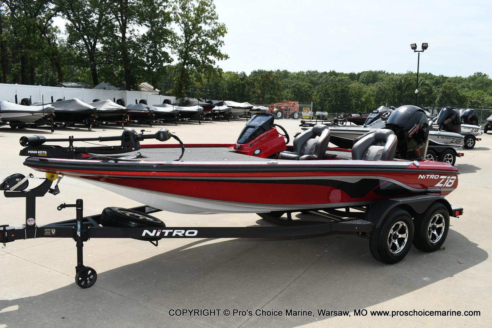 2020 Nitro boat for sale, model of the boat is Z18 & Image # 4 of 50