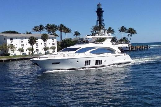 84 ft Azimut 84 Flybridge