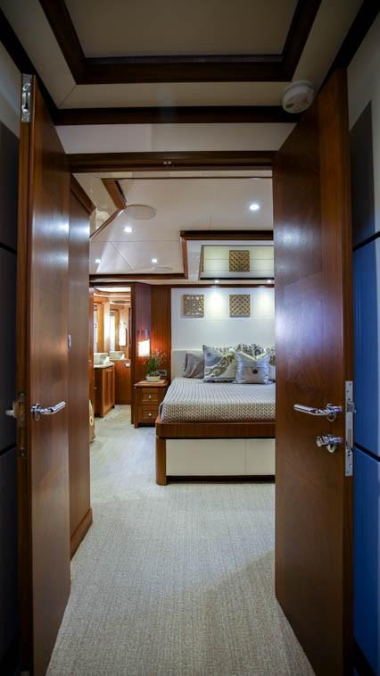 Double Door to Master Stateroom