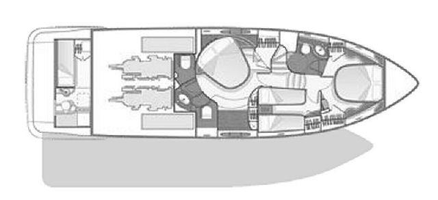 General Arrangement of lower deck