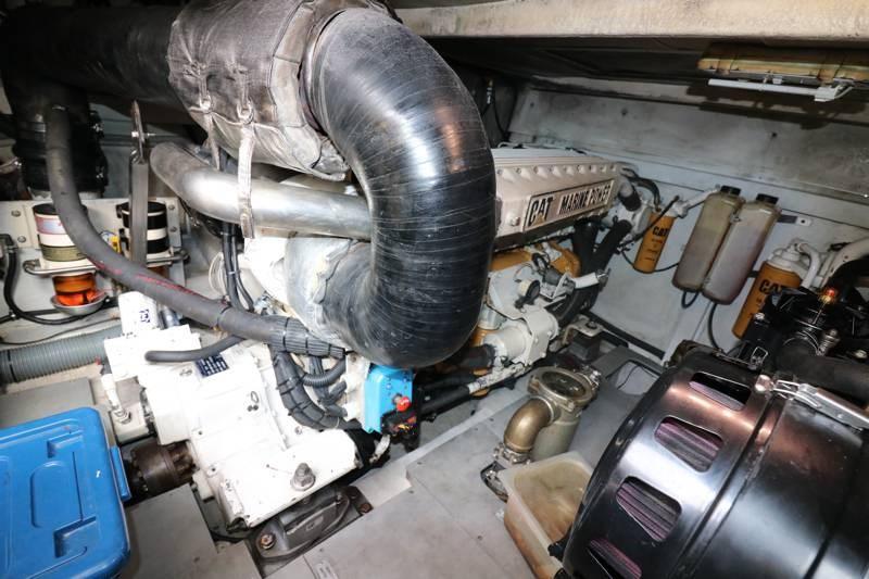 Port CAT rebuilt engine