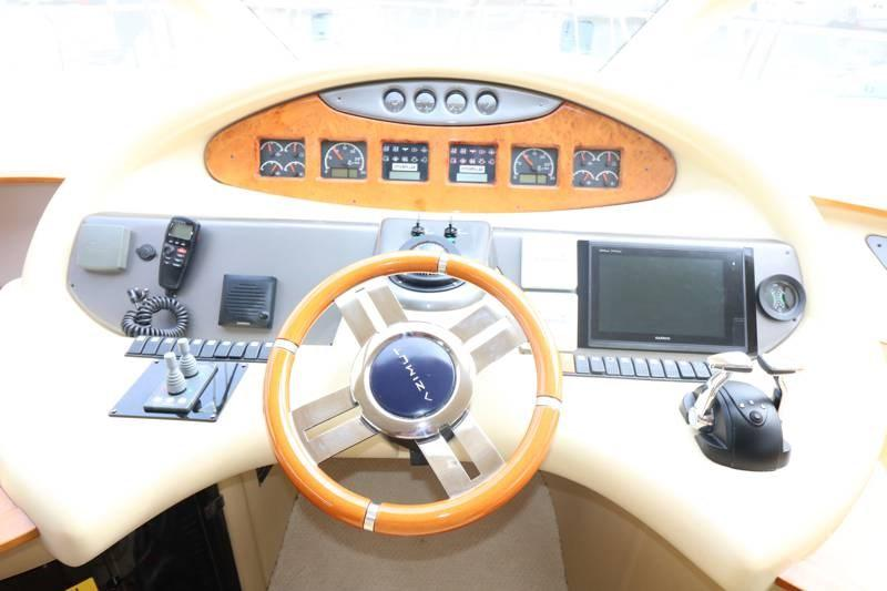 Helm with new bow and stern thruster controls