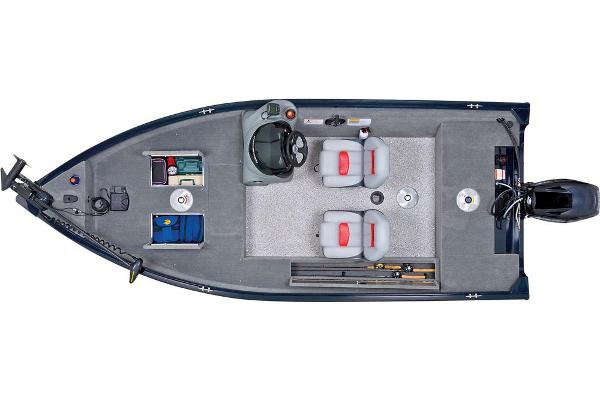 2013 Tracker Boats boat for sale, model of the boat is Super Guide V-16 SC & Image # 6 of 11