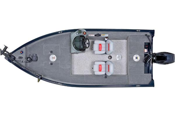 2013 Tracker Boats boat for sale, model of the boat is Super Guide V-16 SC & Image # 5 of 11