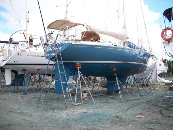 Alan Warwick Custom Offshore Sloop For Sale Maine