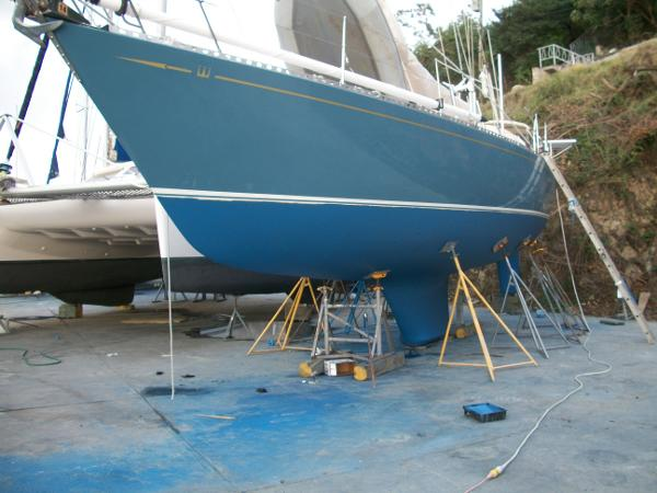 Alan Warwick Custom Offshore Sloop For Sale New England