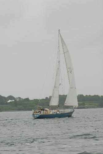 Alan Warwick Custom Offshore Sloop Broker Maine