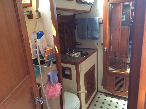Alan Warwick Custom Offshore Sloop For Sale Massachusetts