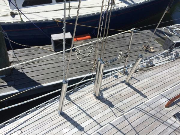 Alan Warwick Custom Offshore Sloop Purchase Massachusetts