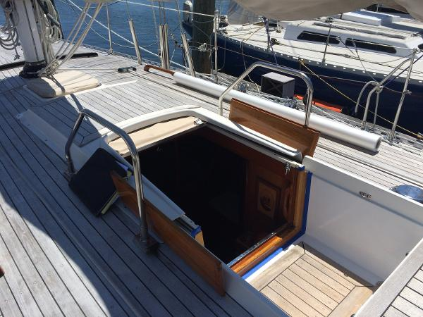 Alan Warwick Custom Offshore Sloop BoatsalesListing Maine