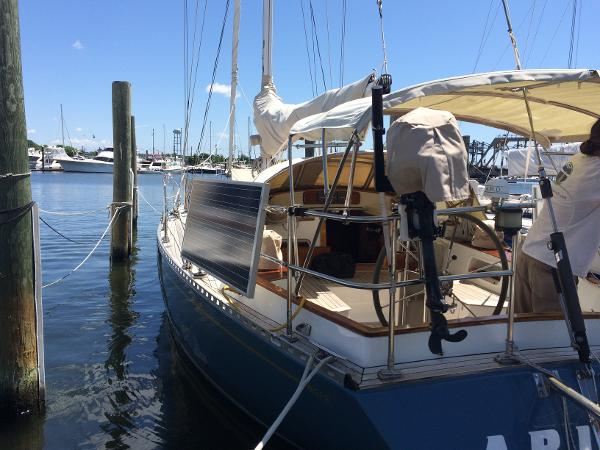 Alan Warwick Custom Offshore Sloop Sell Maine