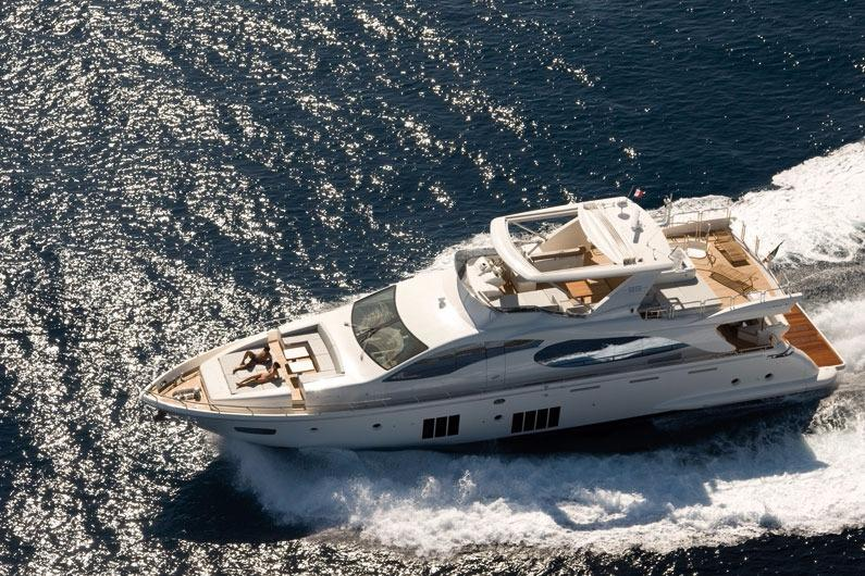 88 ft Azimut 88 Flybridge