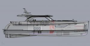 Steeler NG 65 S - boat #1 detail