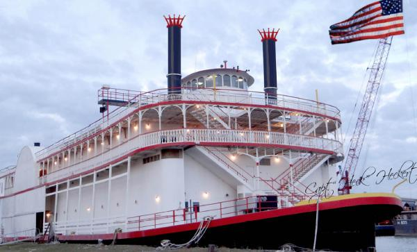 AMERICAN RIVERBOAT RIVER CRUISE VESSEL