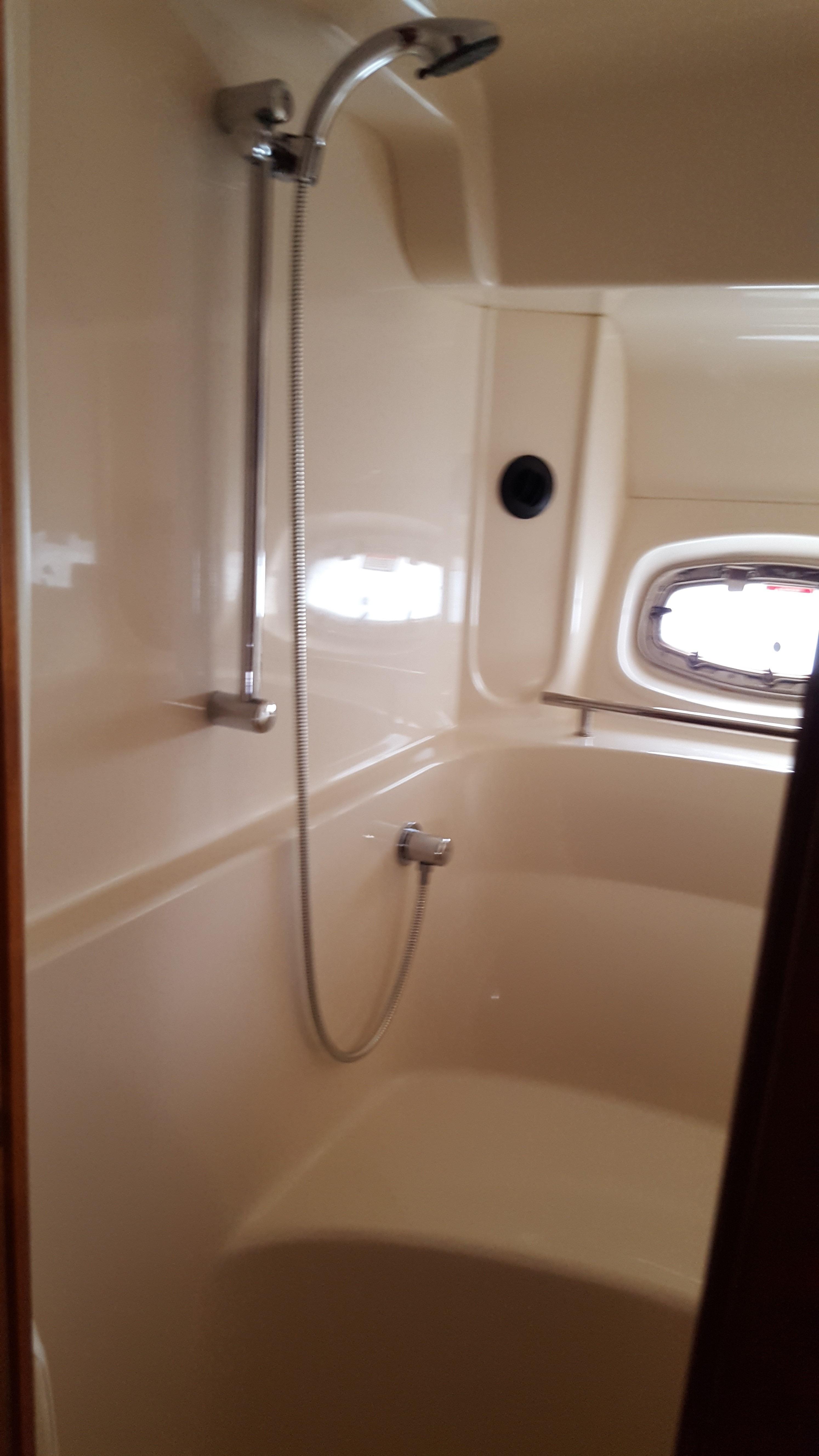 Master stall shower