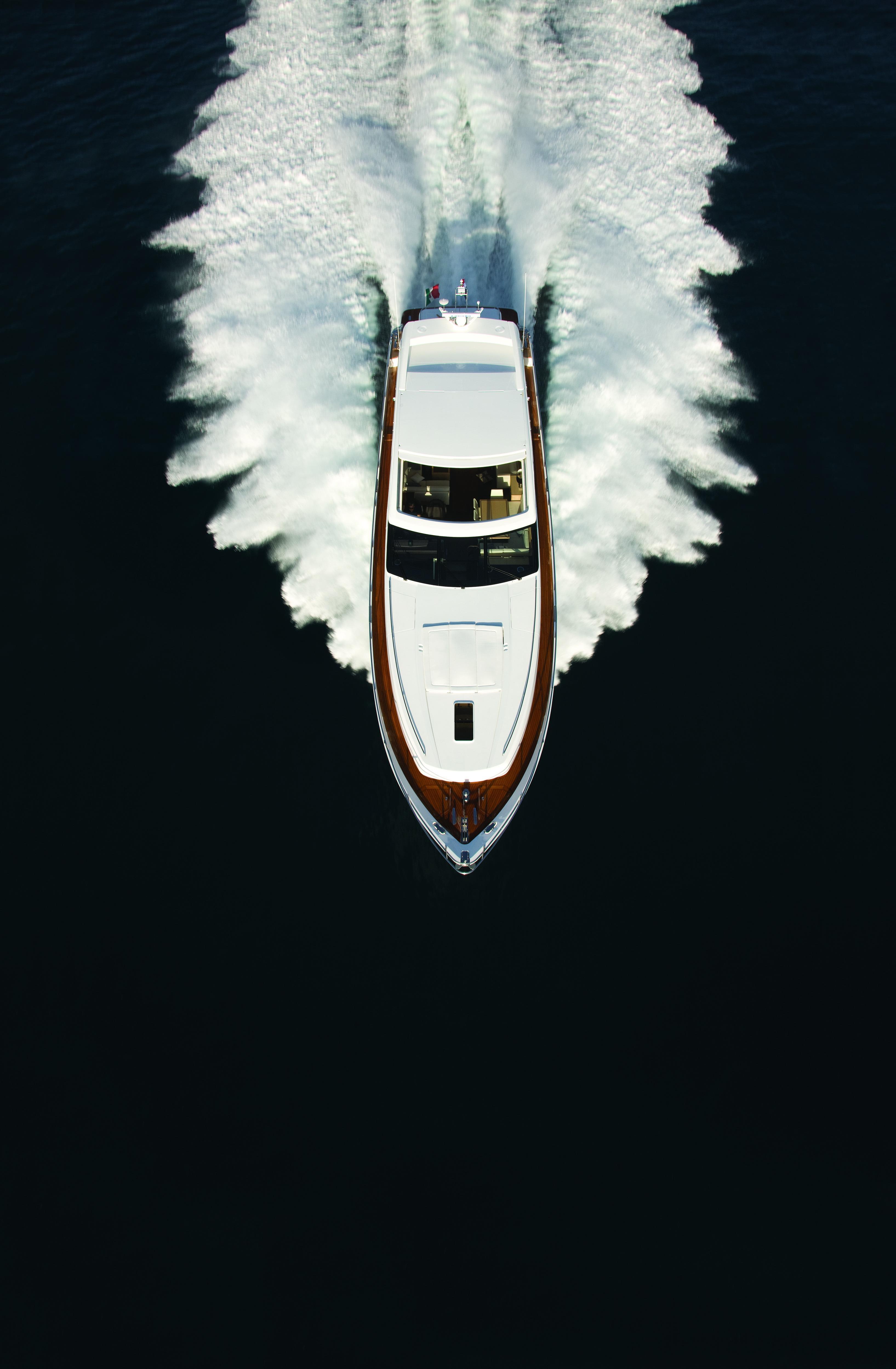 Manufacturer Provided Image: Princess V78 Aerial Shot