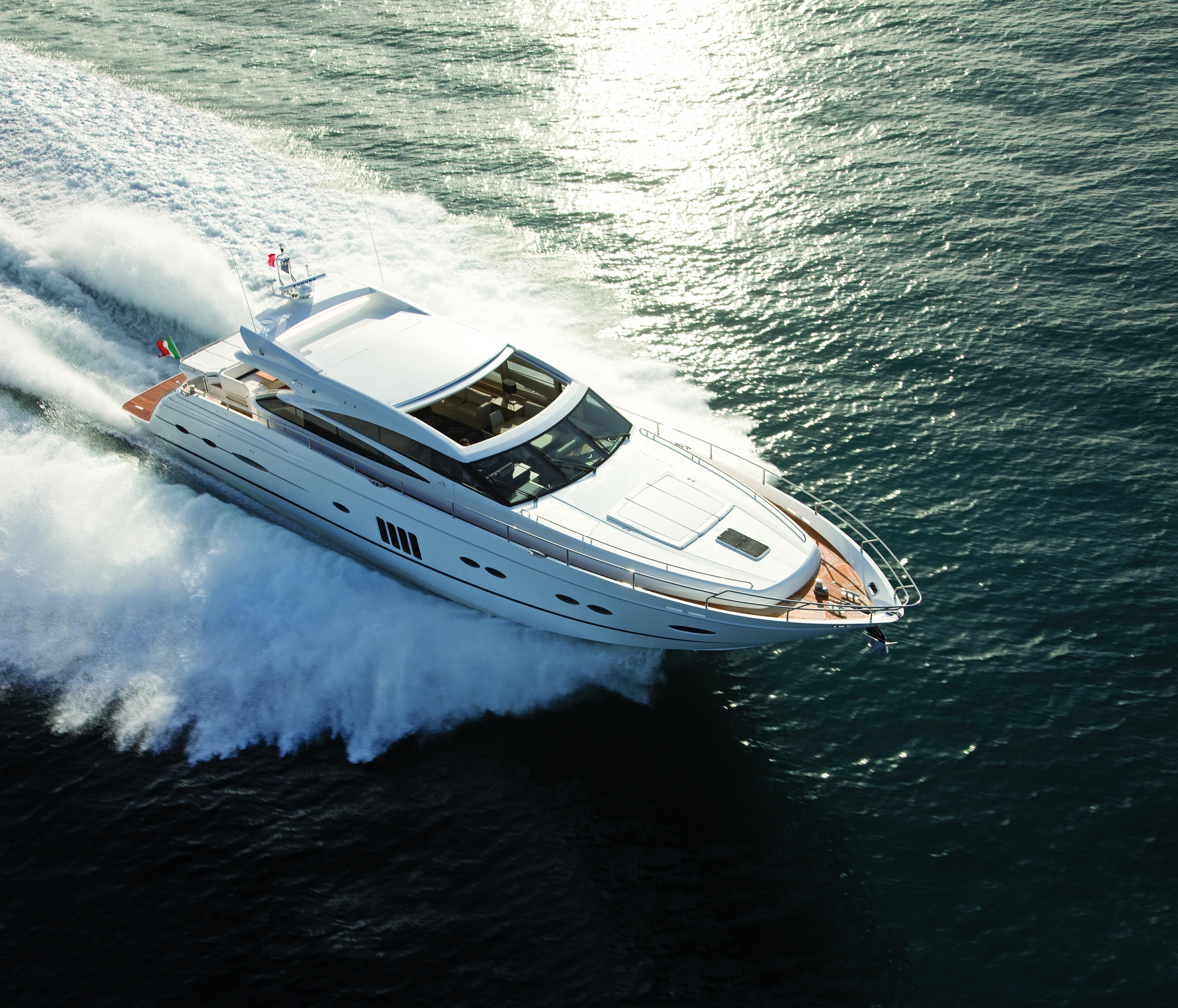 Manufacturer Provided Image: Princess V78 View From Above