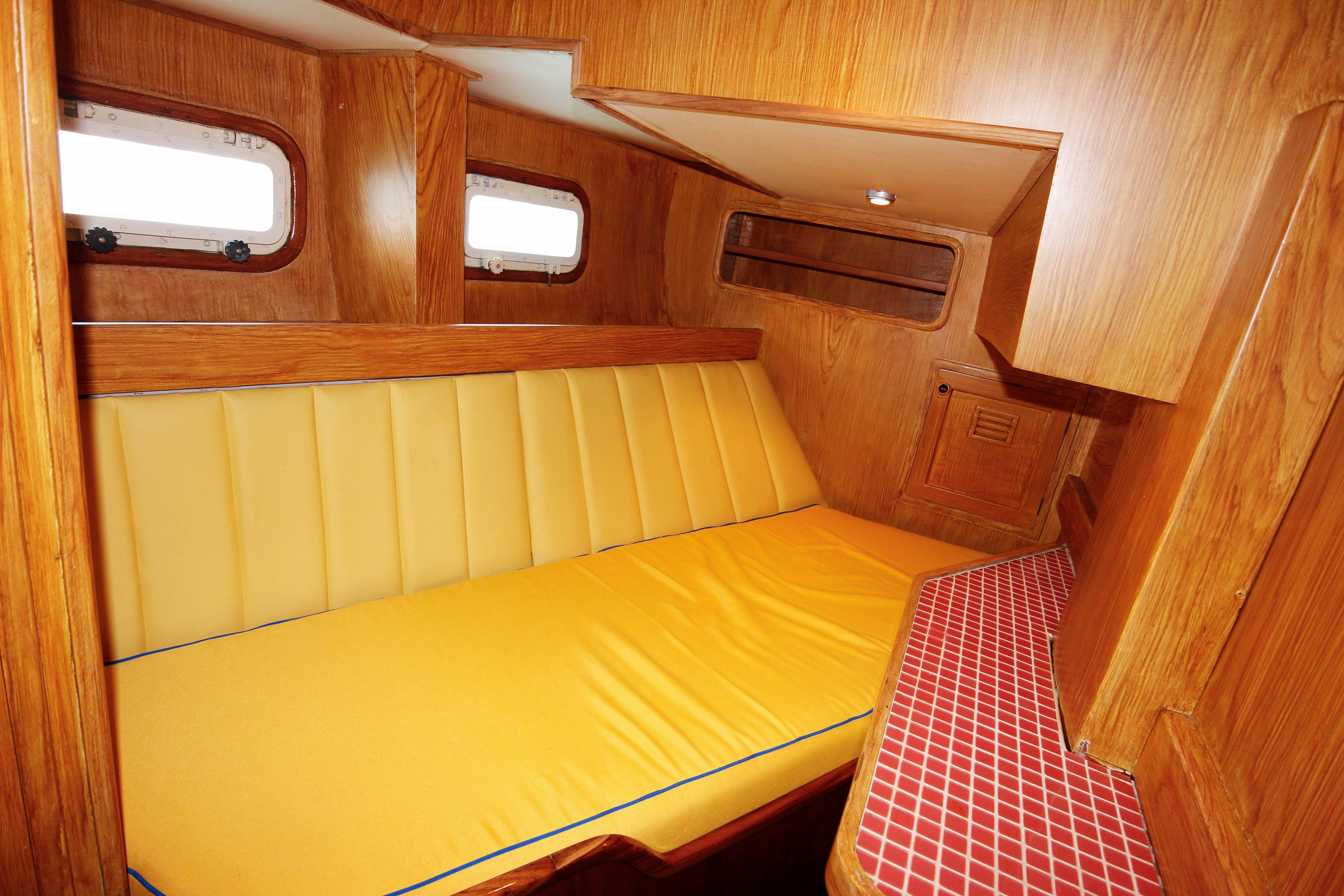 Looking Aft To Saloon
